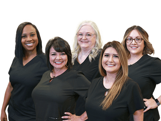 The Harris Parkway Dental care team