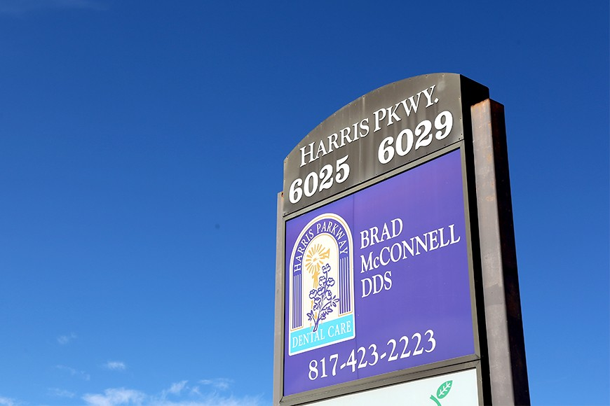 Exterior of Harris Parkway Dental Care